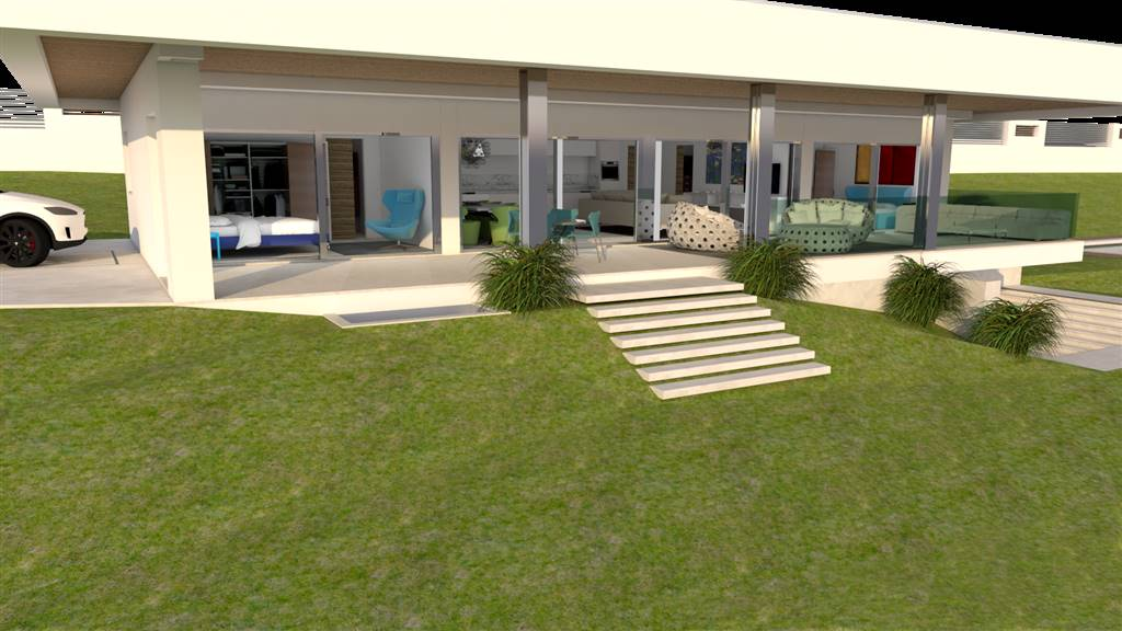 Foto terrazzo e giardino