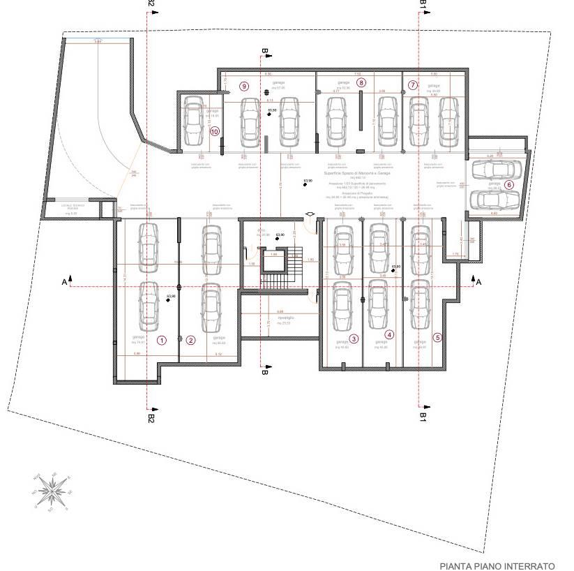 Planimetria Interrati