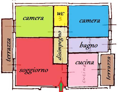 Appartamento in vendita a Scarperia e San Piero, 4 locali, zona Località: SCARPERIA, prezzo € 175.000 | PortaleAgenzieImmobiliari.it