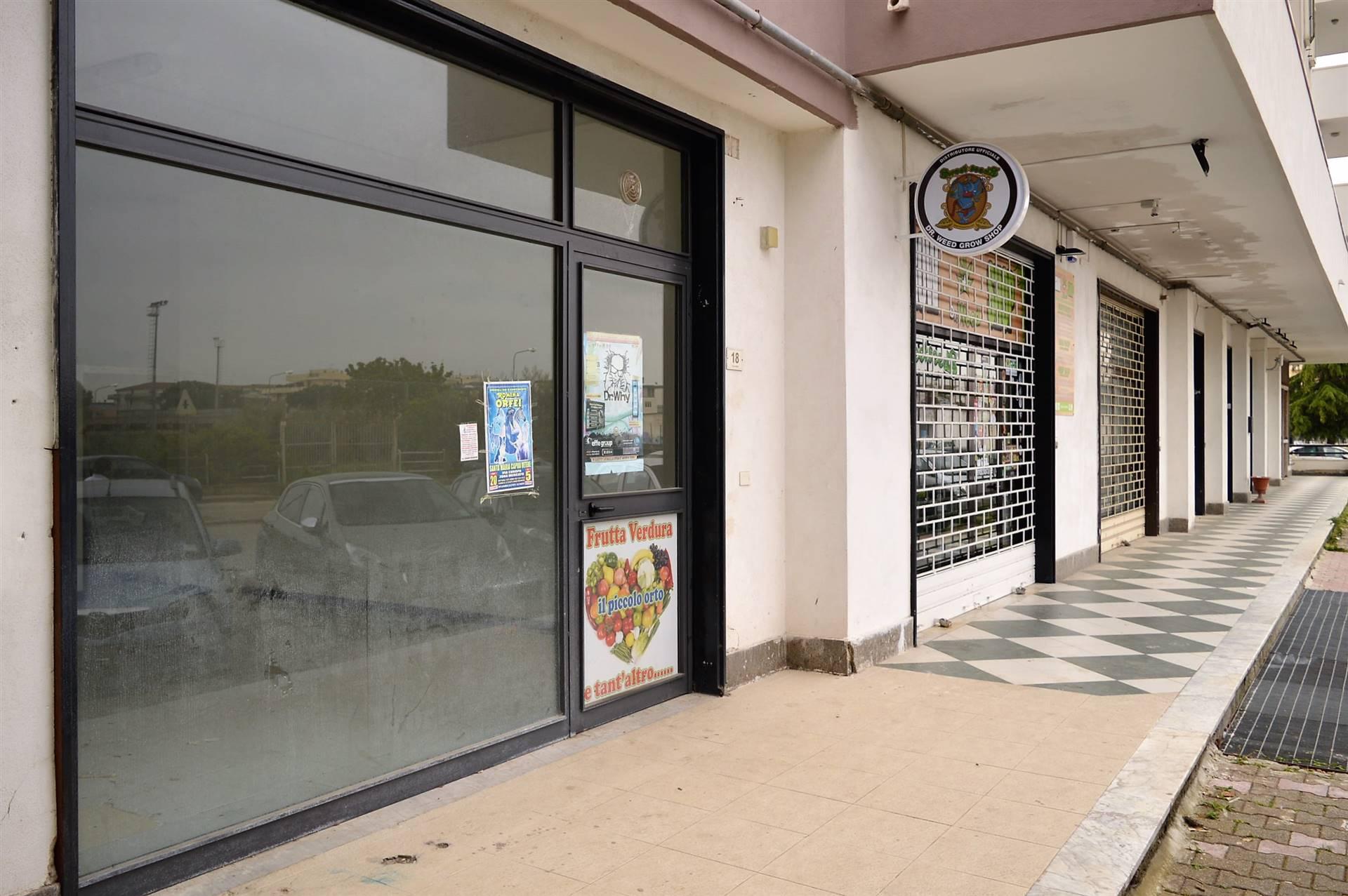 LV051B-Locale Commerciale-SANTA-MARIA-CAPUA-VETERE-Via-Jan-Palach