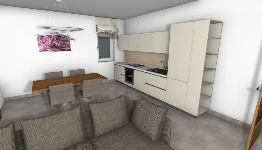 Render soggiorno/cucina