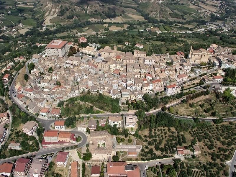 Vista aerea di Bucchianico