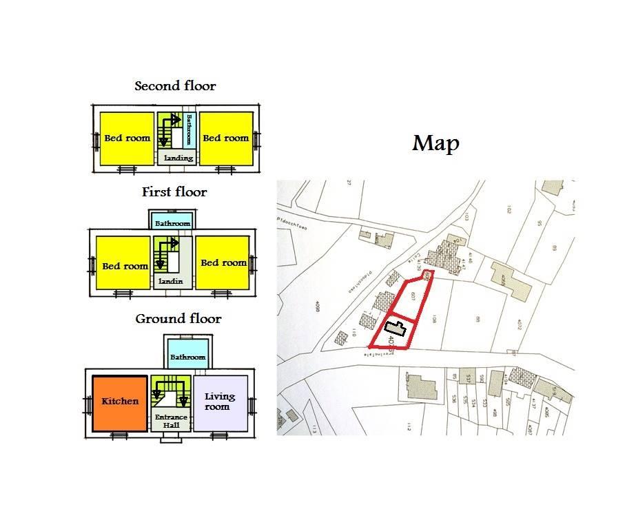 planimetria e mappa/map and floorplans
