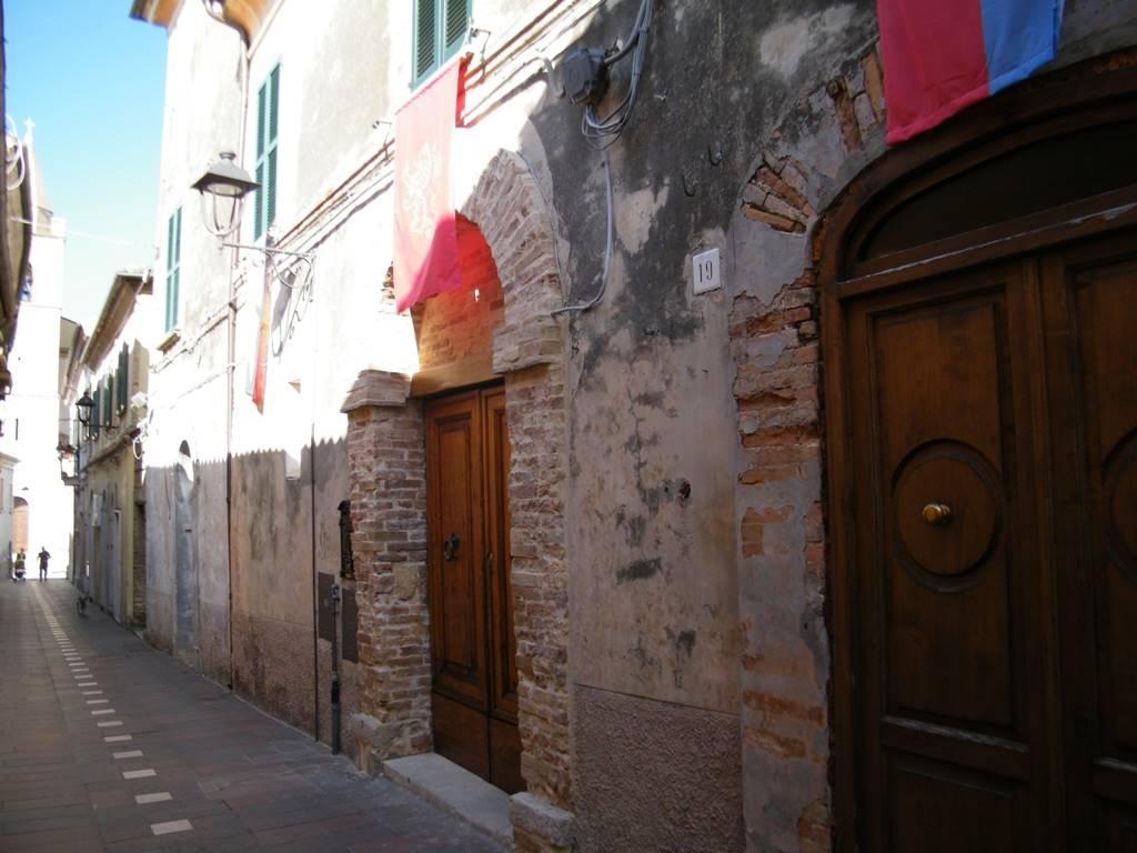 Ingresso da Corso Pierantoni/entrance
