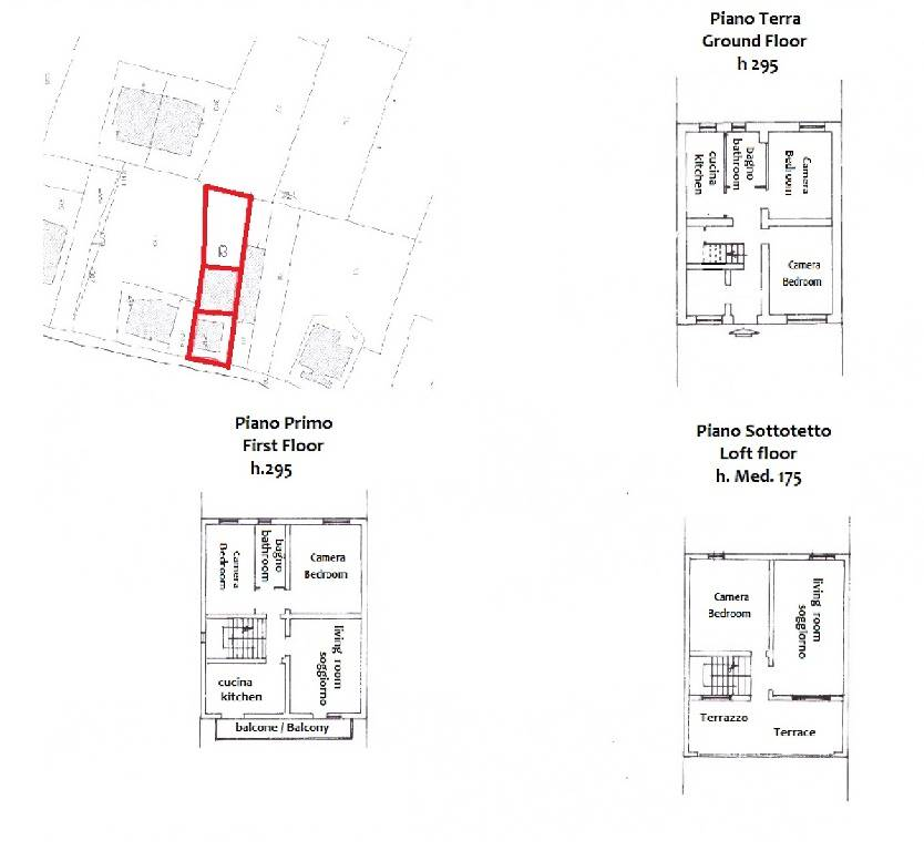 Piantina/floor plan