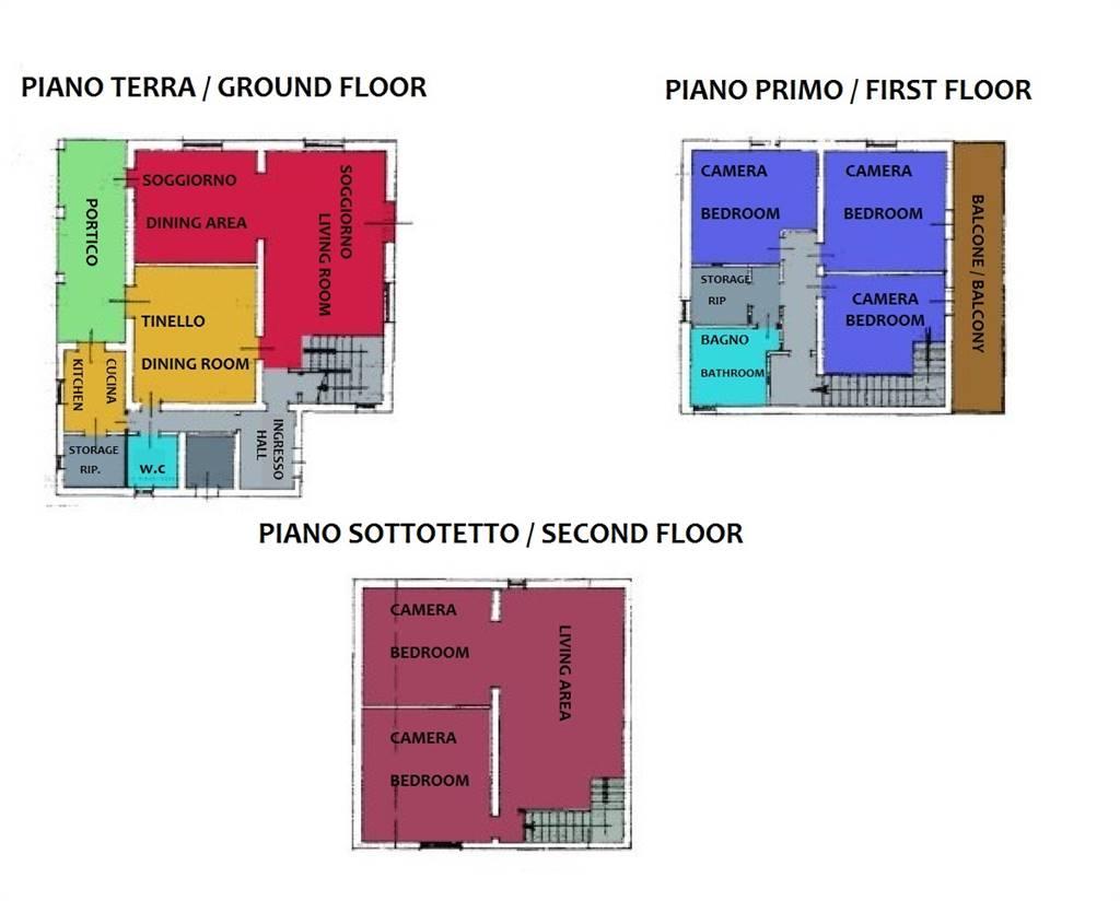 Planimetrie/floor plans