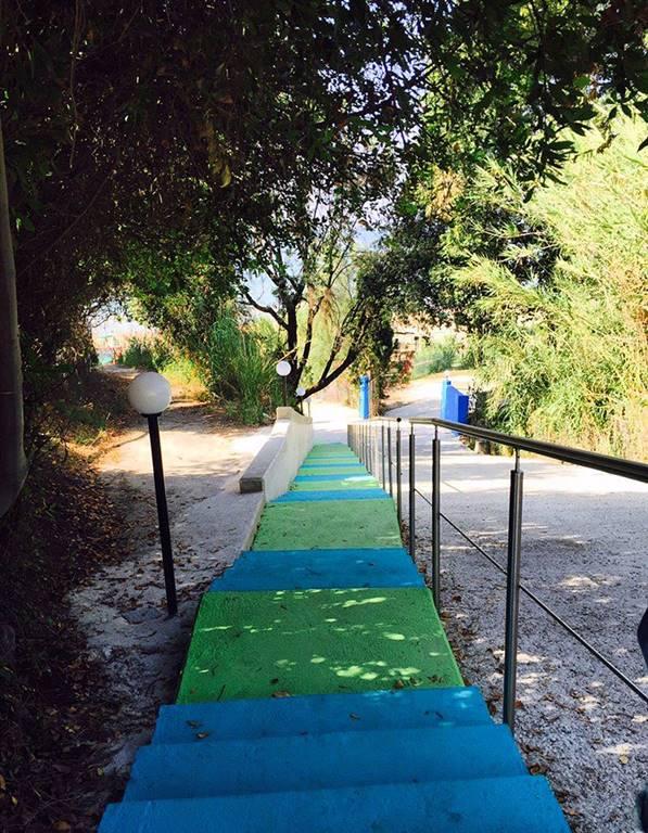 Accesso mare/path to the  beach