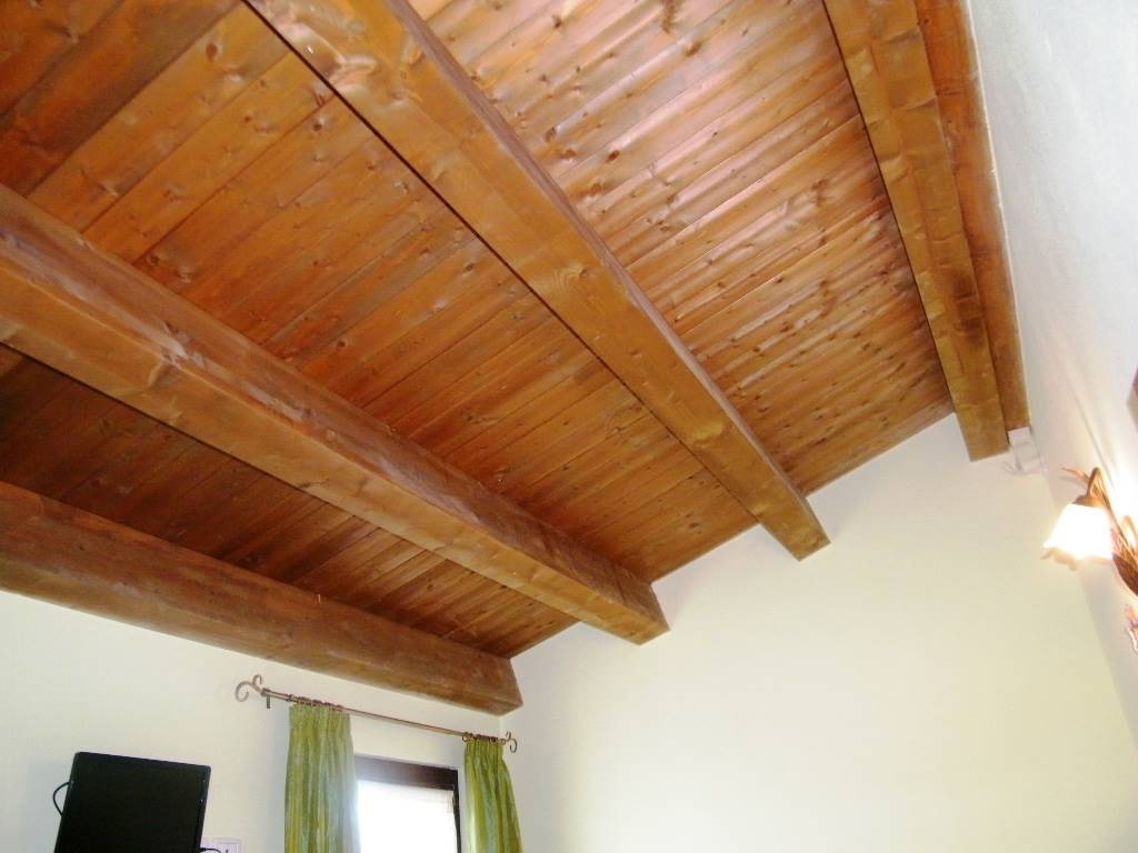 Travi a vista camera/bed room rafters
