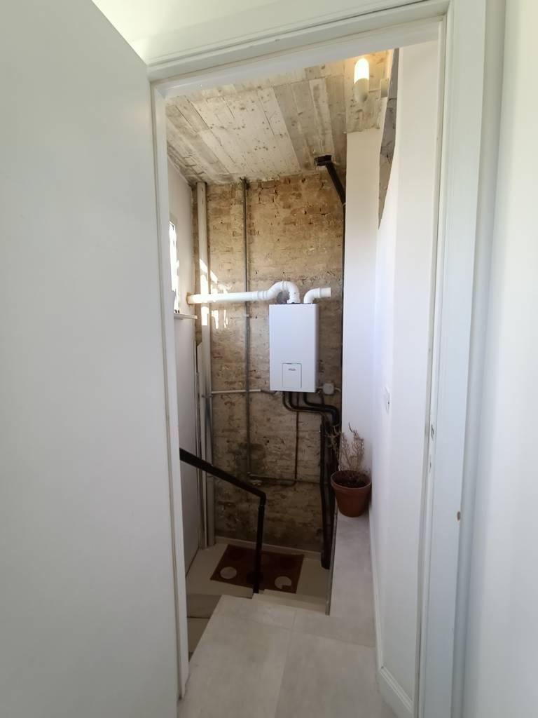 accesso seminterrato basement access