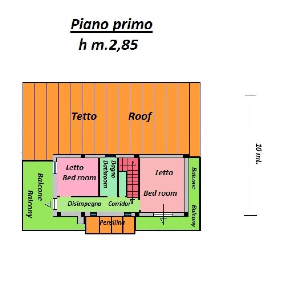 piano primo first floor
