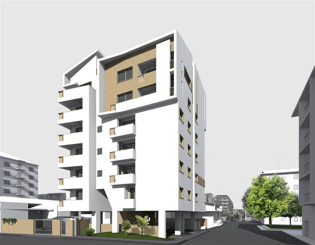 Cosenza- Via Lucania- Attico e super attico in stabile in fase di realizzazione composto da: Zona giorno di 60 mq, posto al piano 6 e composta da :