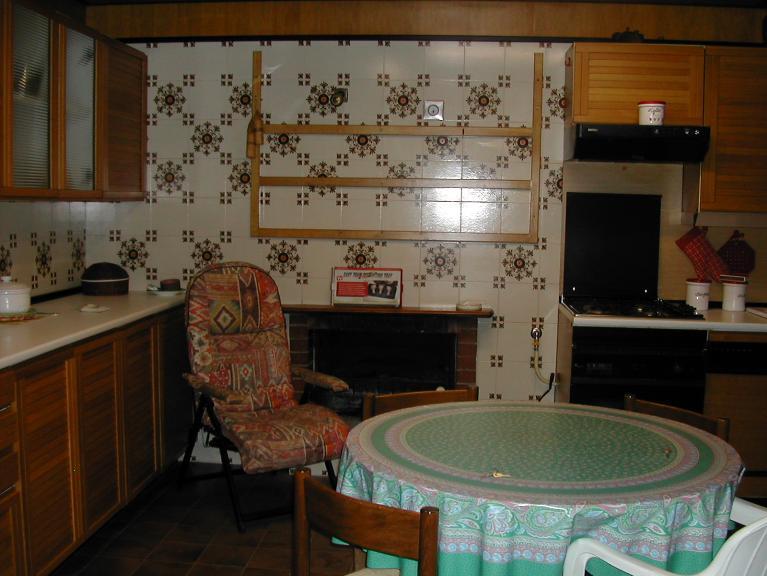 cucina con camino - Rif. 0473