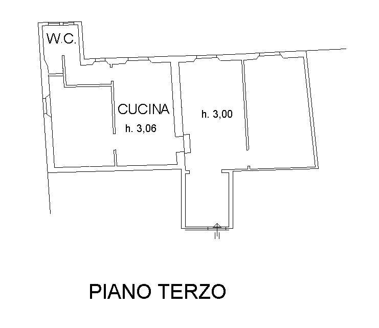 planimetria appartamento piano terzo