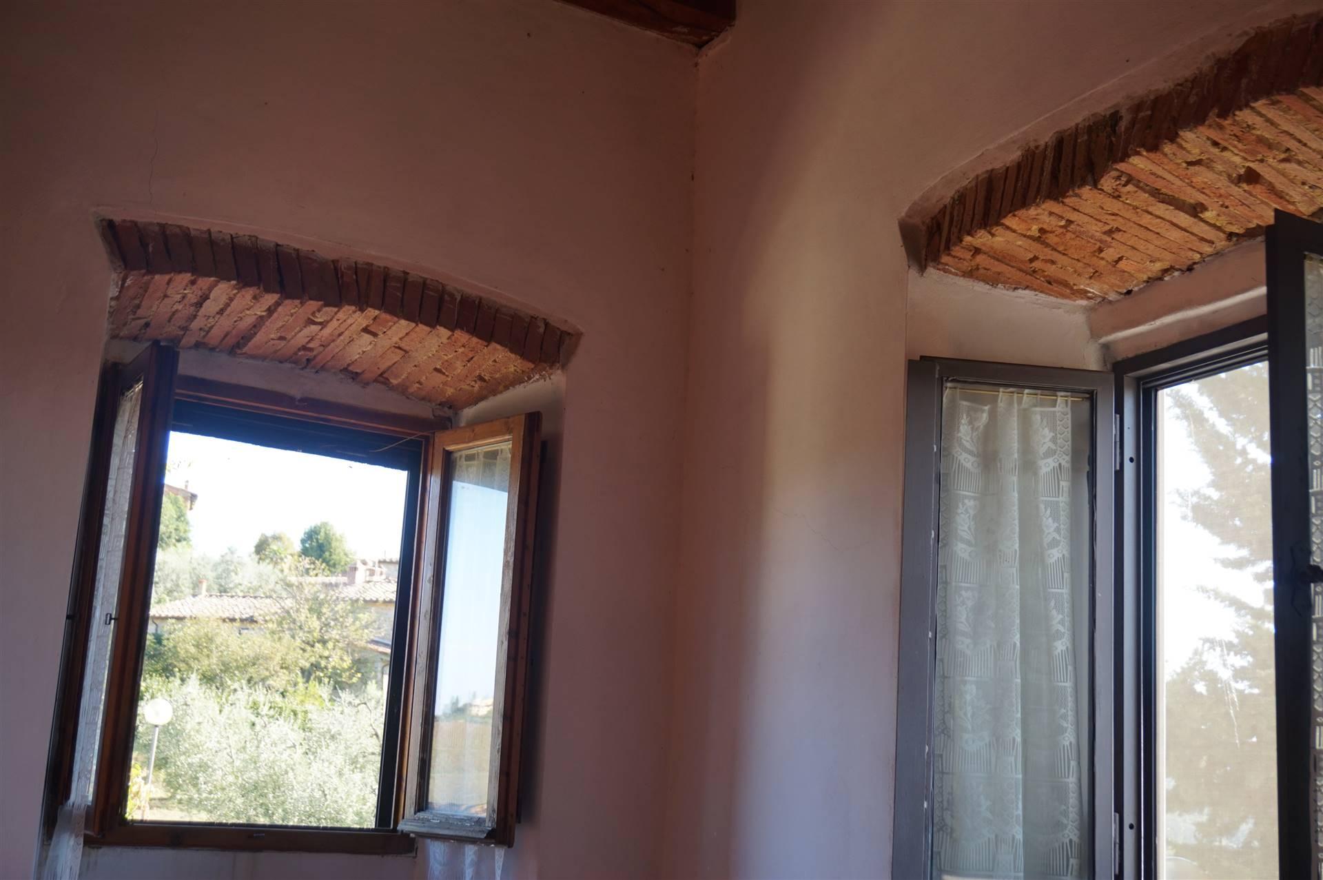 le finestre della camera matrimoniale