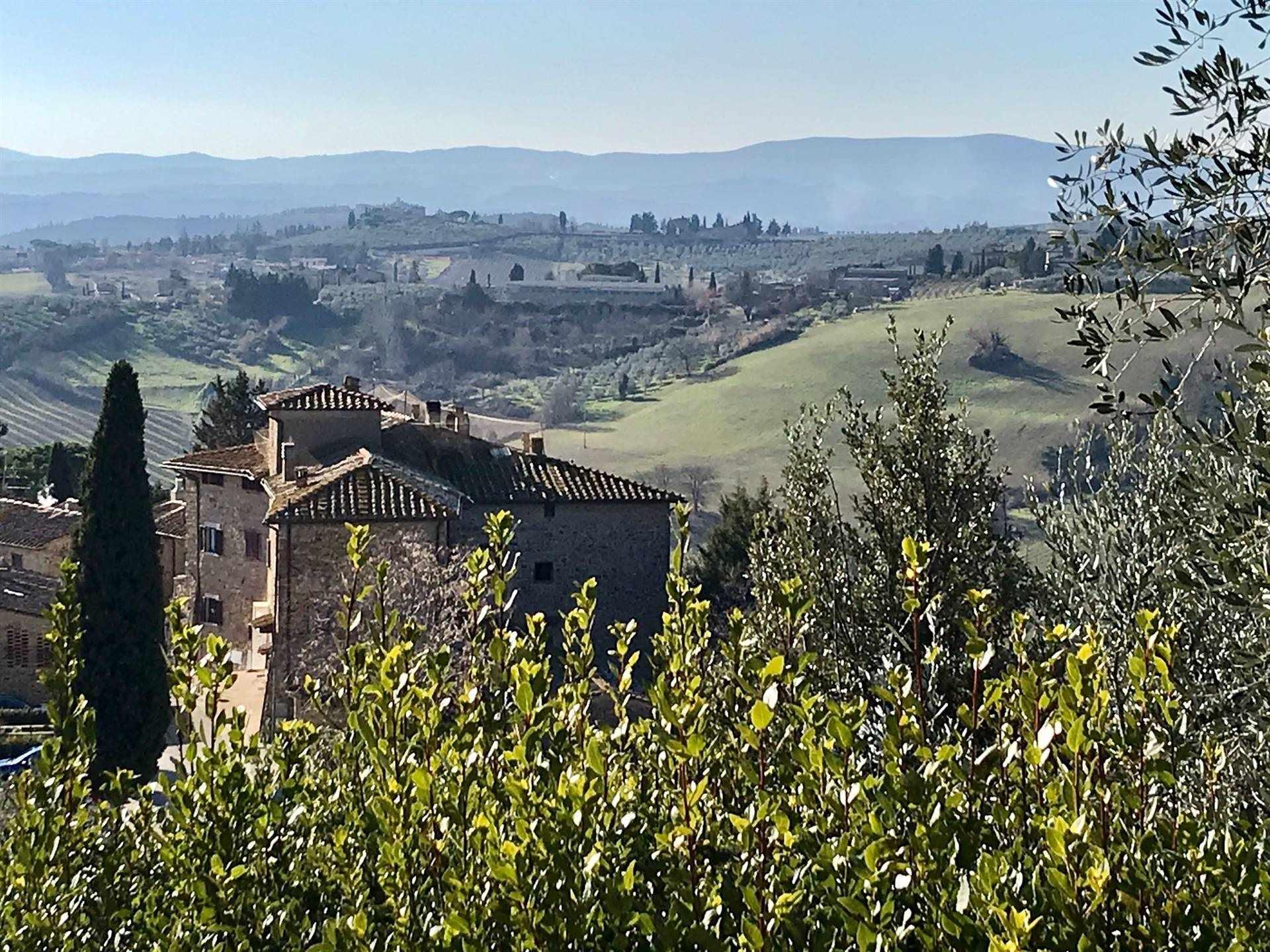 vista dal castello di Tignano