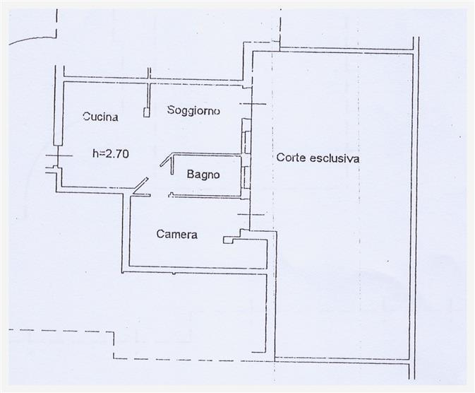 Appartamento in affitto a Nogarole Rocca, 2 locali, zona Località: PRADELLE, prezzo € 450 | CambioCasa.it