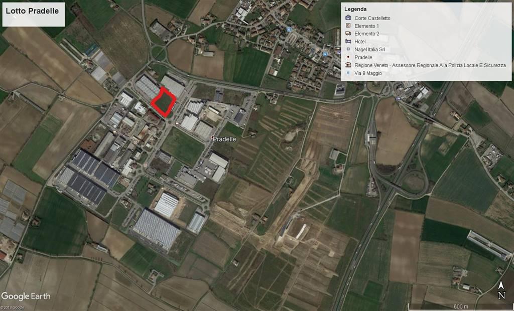 Terreno Edificabile Comm.le/Ind.le in vendita a Nogarole Rocca, 9999 locali, zona Località: PRADELLE, prezzo € 1.150.000   CambioCasa.it