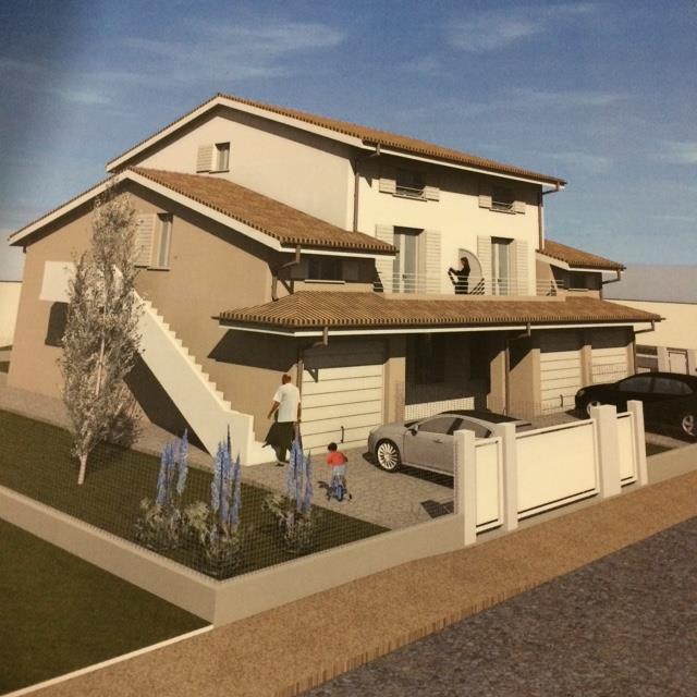 Villa a schiera, Guastalla, in nuova costruzione