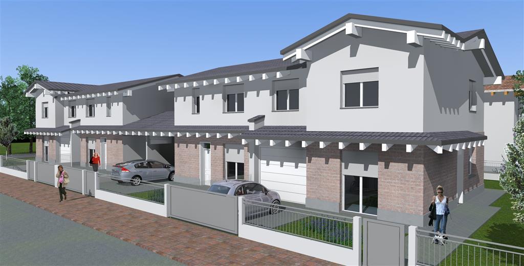 Nuova costruzione in vendita a suzzara mantova rif for Planimetrie della mia villa