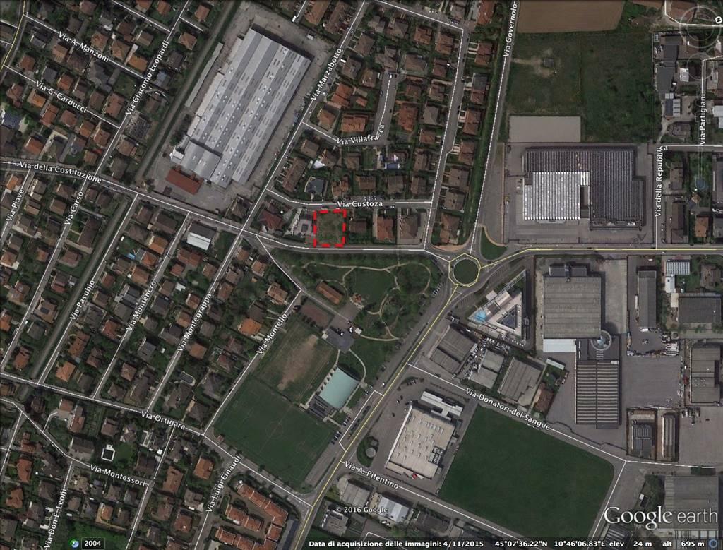 Nuova costruzione in Via Custoza, Levata, Curtatone