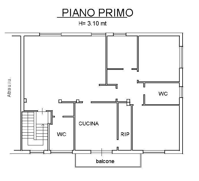PIANO PRIMO ABITAZIONE