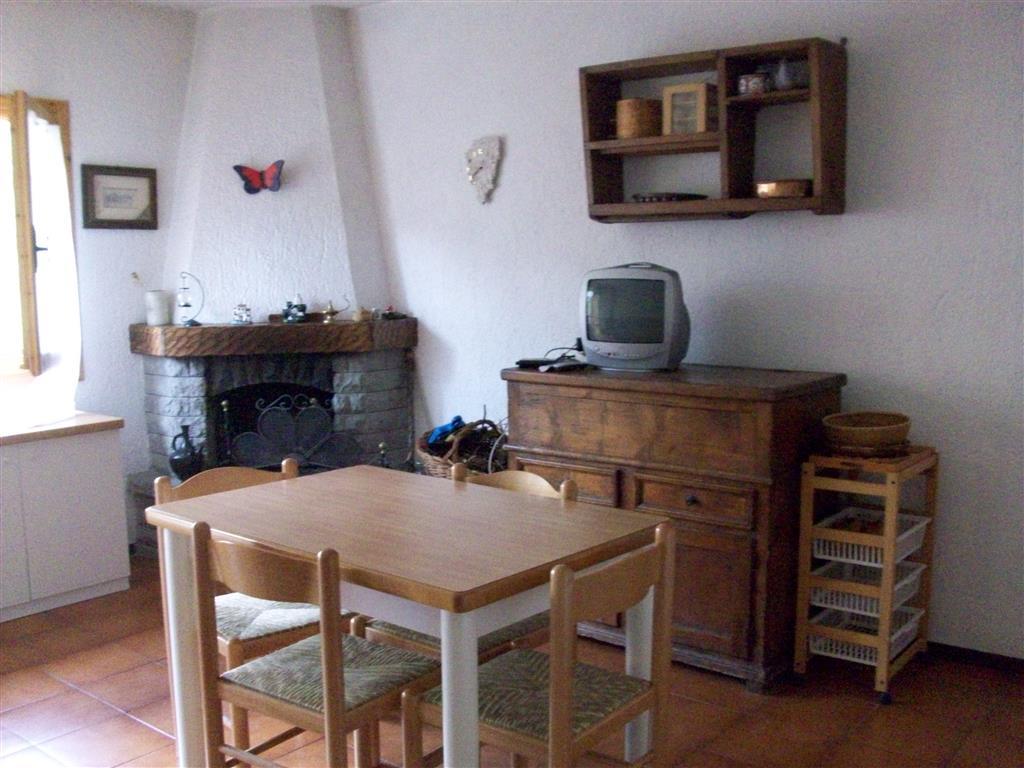 Fiumalbo appartamento disposto su due livelli composto da: zona giorno con angolo cottura, camino, divano letto matrimoniale,bagno con doccia,