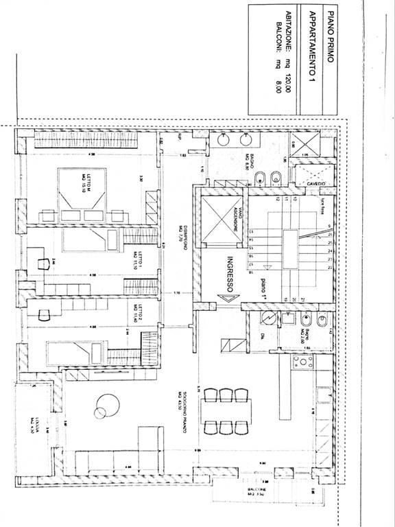 Appartamento in vendita a Altamura, 5 locali, prezzo € 260.000   CambioCasa.it