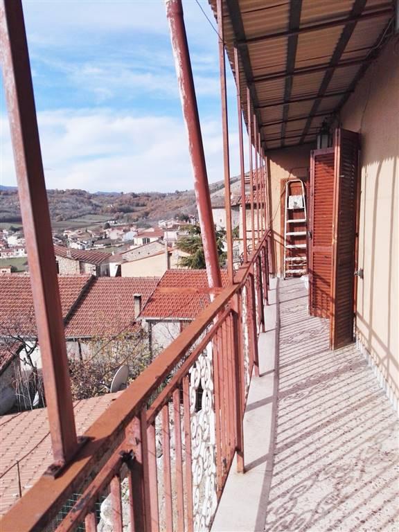 balcone del piano terra