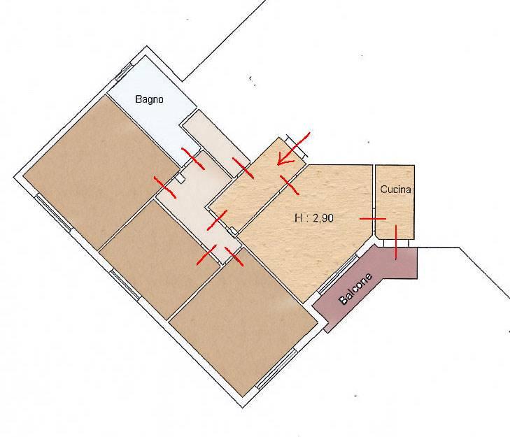 VALENZATICO, QUARRATA, Appartamento in vendita di 110 Mq, Ottime condizioni, Riscaldamento Autonomo, Classe energetica: G, posto al piano 2°,