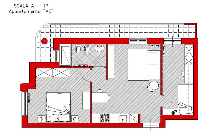 Trilocale, Turi, in nuova costruzione