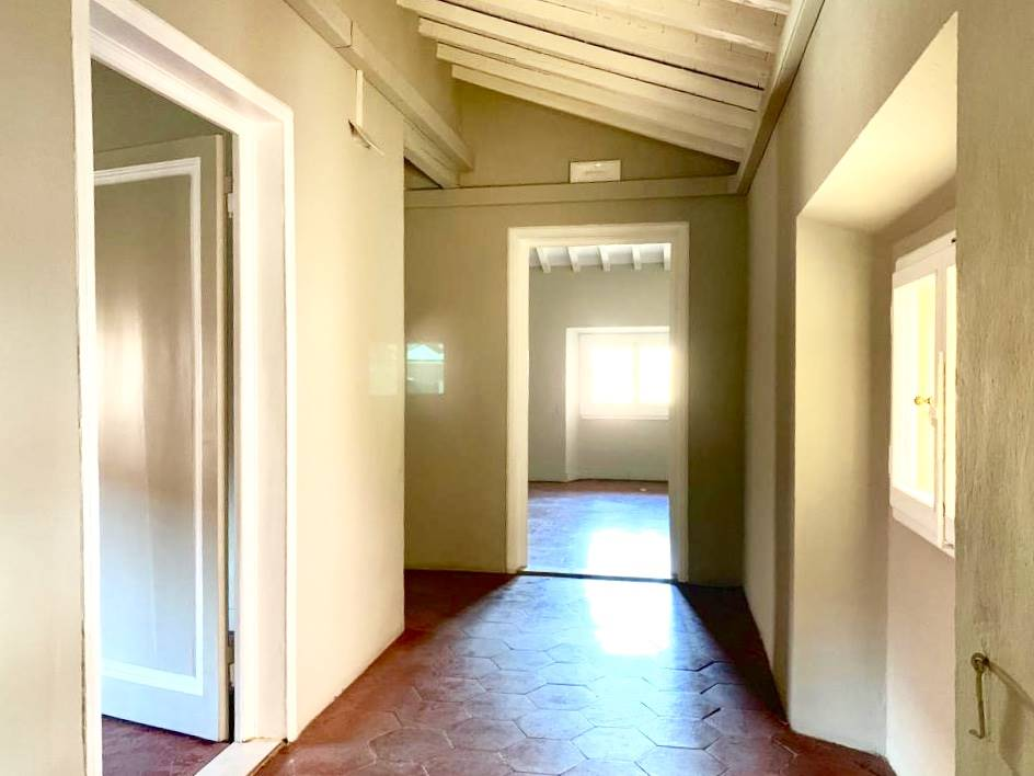 corridoio piano mansarda