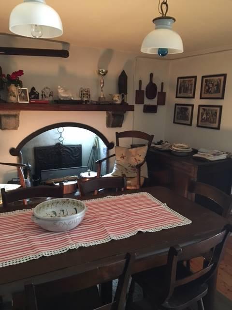 Foto camino in soggiorno - Rif. B2