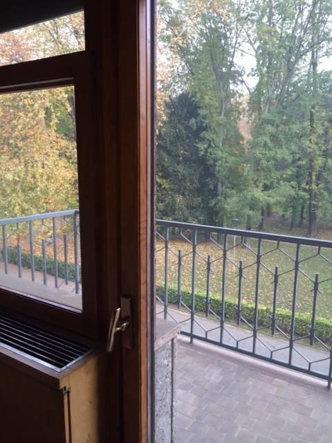 Foto balcone vista parco - Rif. A2