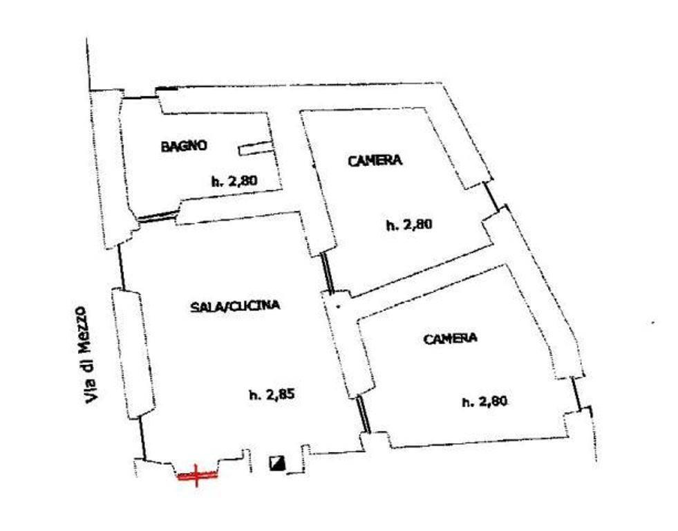 Appartamento in affitto a Baschi, 4 locali, prezzo € 350 | CambioCasa.it