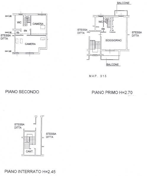 appartamento e cantina