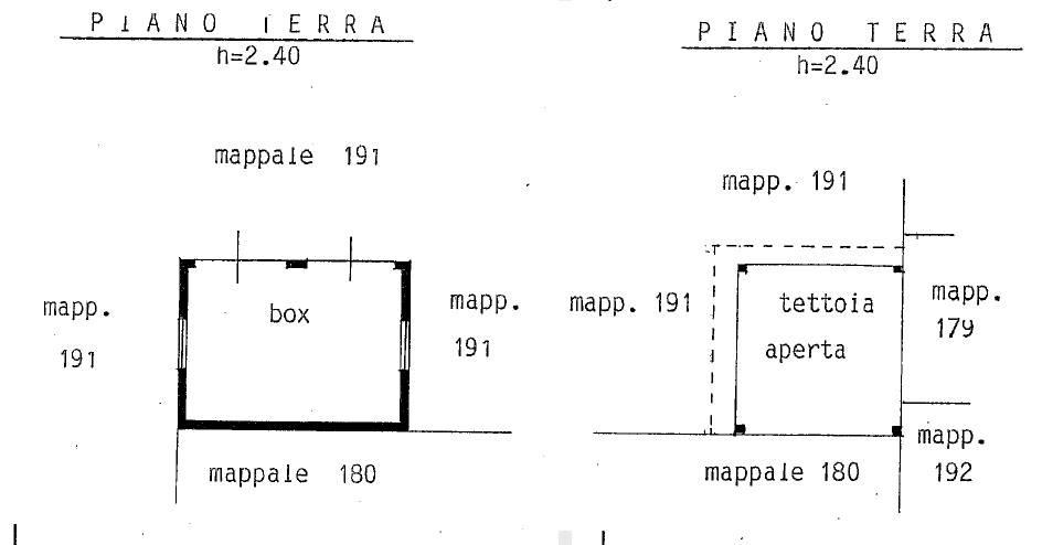 box e tettoia