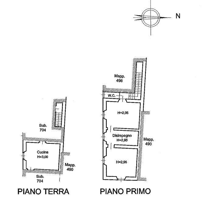 PIANO TERRA E PRIMO