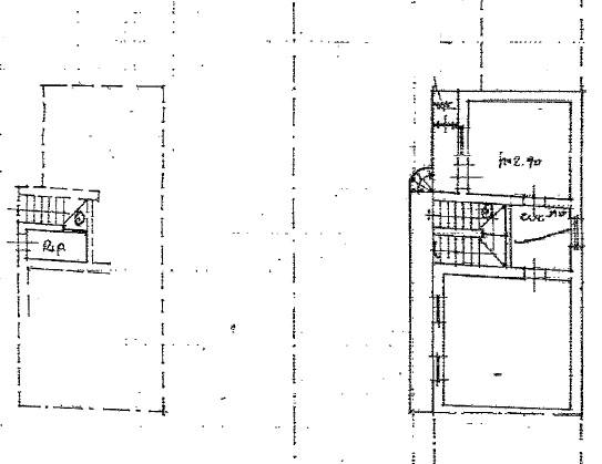 piantina appartamento e ripostiglio