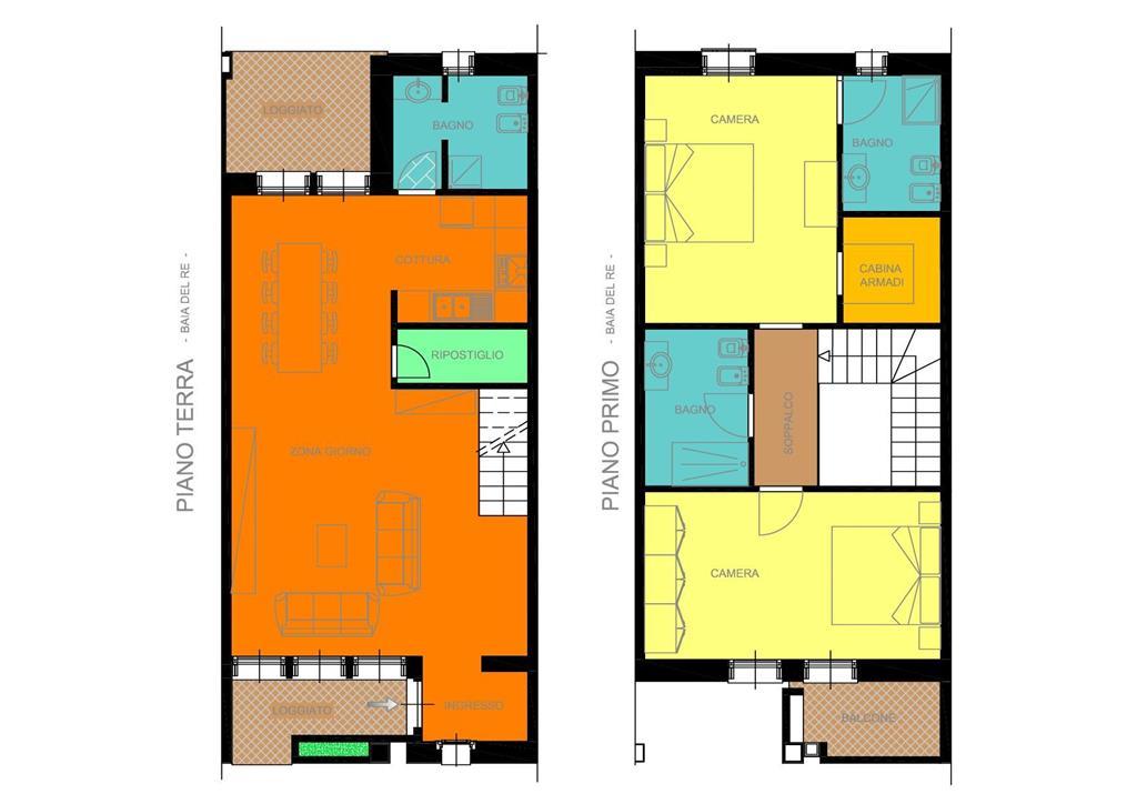 Casa semi indipendente, Baia Del Re, Piacenza, in nuova costruzione