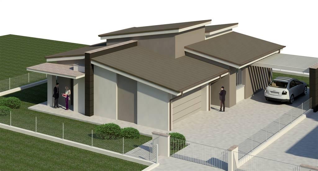 Villa, Baia Del Re, Piacenza, in nuova costruzione