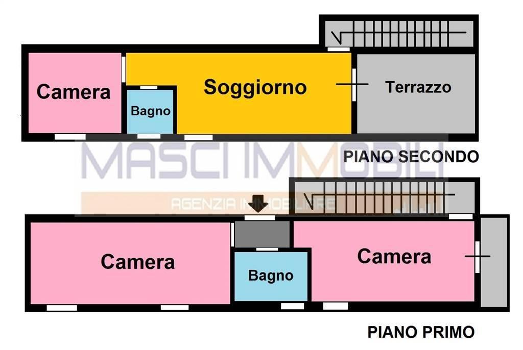 Appartamento in vendita a Fiano Romano, 3 locali, prezzo € 95.000 | CambioCasa.it
