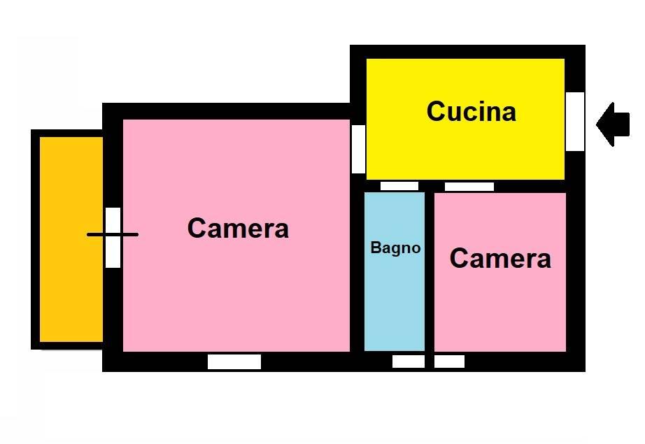 Appartamento in vendita a Roma, 2 locali, zona Zona: 6 . Nuovo Salario, Prati Fiscali, Tufello, Conca d'Oro, Città giardino, prezzo € 79.000   CambioCasa.it