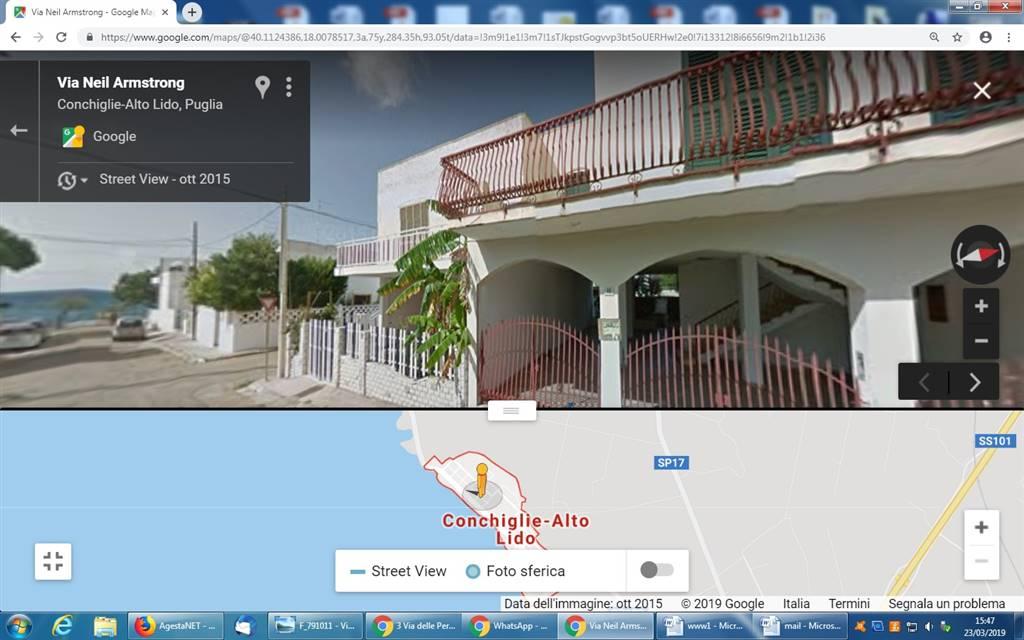 Villa in affitto a Sannicola, 7 locali, zona Località: LIDO DI CONCHIGLIE, prezzo € 150   CambioCasa.it