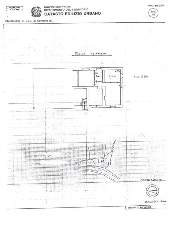 Planimetria Colonica  PT