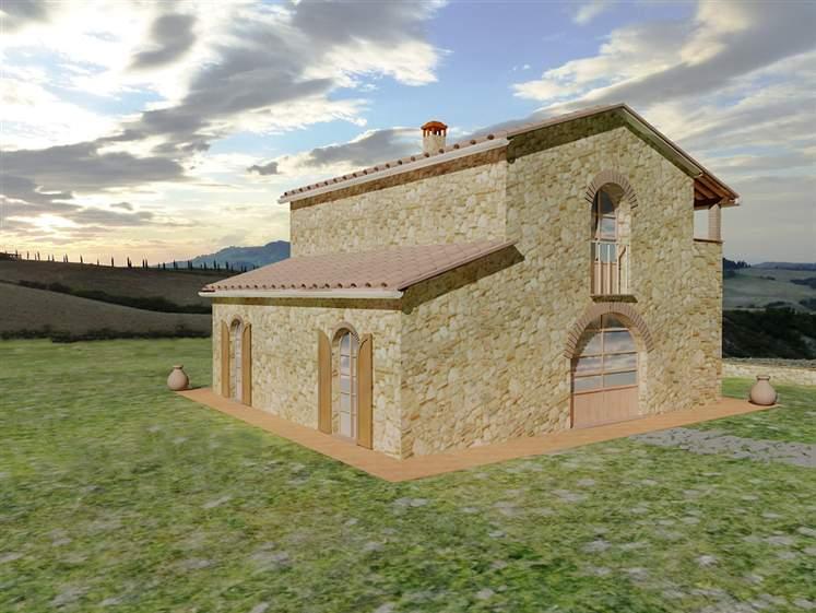 Rustico casale, Volterra, in nuova costruzione