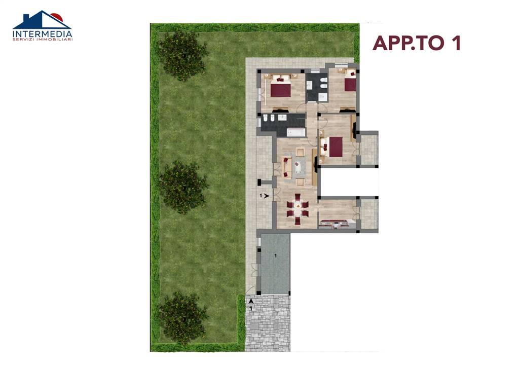 Appartamento in vendita a Reggio Emilia, 5 locali, zona zio/San Maurizio, prezzo € 285.000   PortaleAgenzieImmobiliari.it