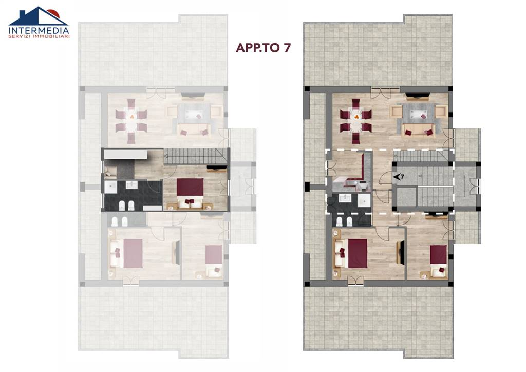 Appartamento in vendita a Reggio Emilia, 5 locali, zona zio/San Maurizio, prezzo € 335.000   PortaleAgenzieImmobiliari.it