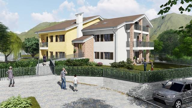 Appartamento a GIAVENO 105 Mq | 3 Vani | Giardino 260 Mq