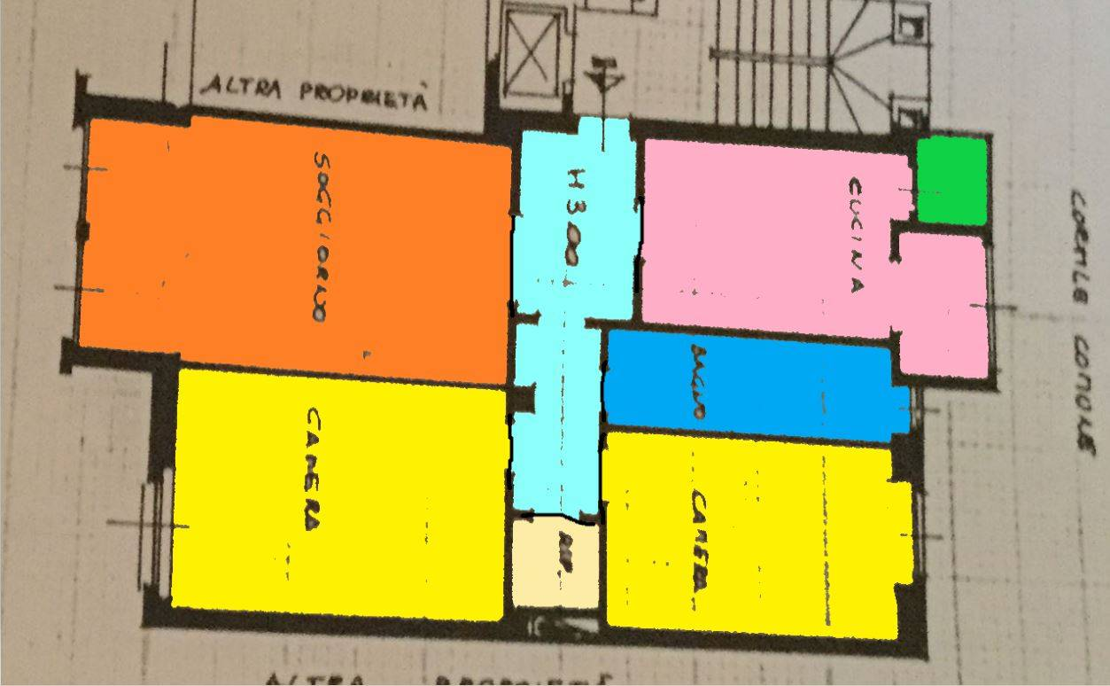 Appartamento in vendita a Milano, 3 locali, zona Località: LANCETTI, prezzo € 479.000 | PortaleAgenzieImmobiliari.it