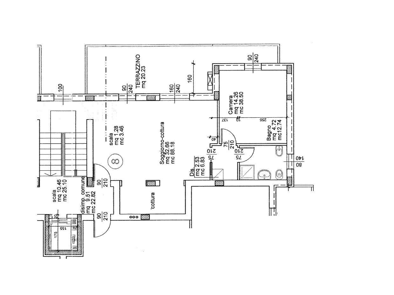 Planimetria 2° - Rif. 758